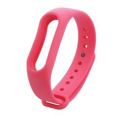 Цветные ремешки Mi Band 2 розовый
